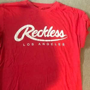 Other - Reckless LA shirt